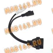 Переходник для Audi/VW/Seat/Skoda 2x2 to 16Pin OBD2 Adapter
